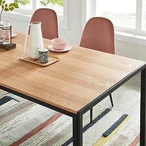 table placage bois