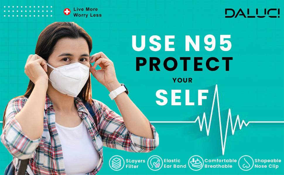 n95 face mask n95 mask washable and reusable masks with nose pin for men women girls unisex boys