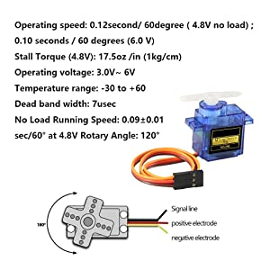 SG90 Servo Motor Micro Servo 9G Servo Motor