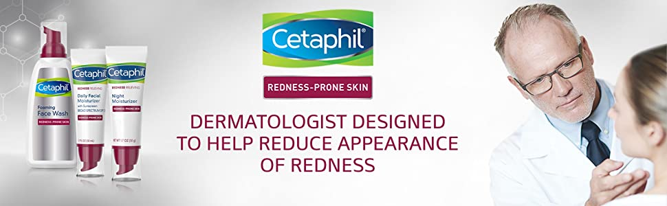 Dermatologist designed to help reduce appearance of redness