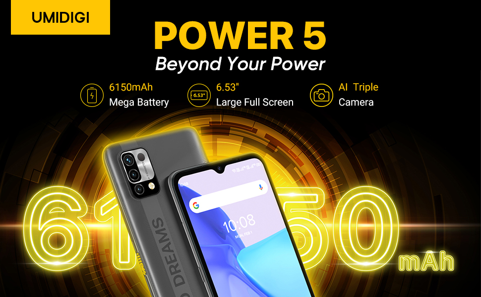 Power 5 Smartphone