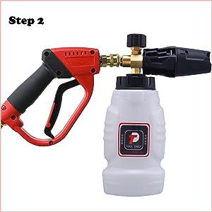 pressure washer foam cannon