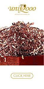 Uniqooo Rose Crinkle Cut paper filler