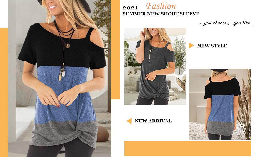 fashion tshirts women casual short sleeve t shirt shirt sleeve blouse short sleeve blouses women
