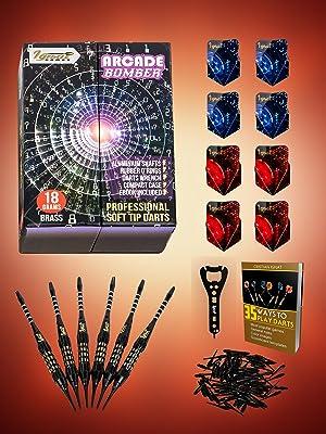 plastic tip darts set