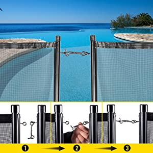 pool fence for dogs