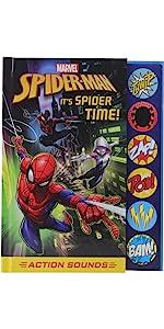 Marvel Spider-Man Spider-verse - It's Spider Time! Action Sound Book