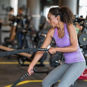 exercise battle rope