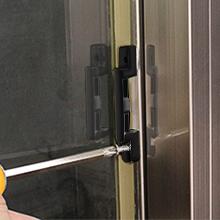 vinyl window sash lock and keeper