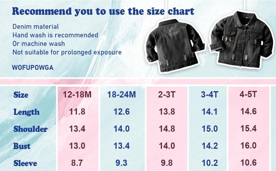 boys denim size