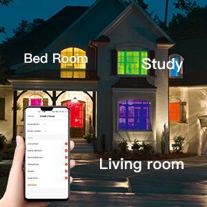 LED Flush Mount Smart Ceiling Light