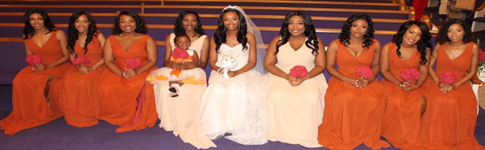 Bridesmaids Dresses for Wedding 2021