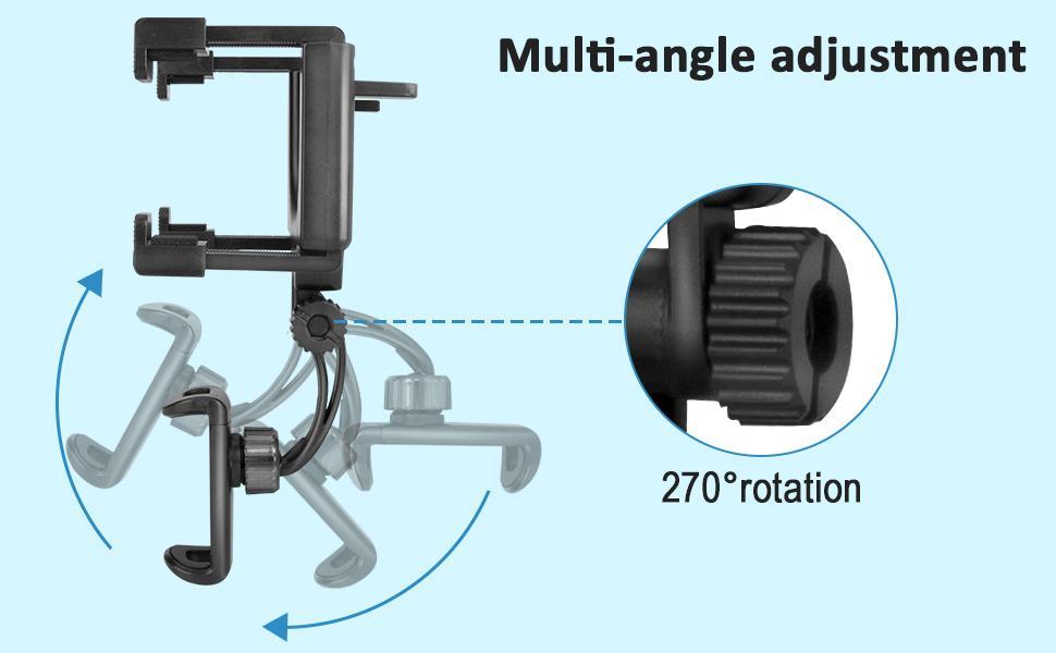 multi-angle adjustment