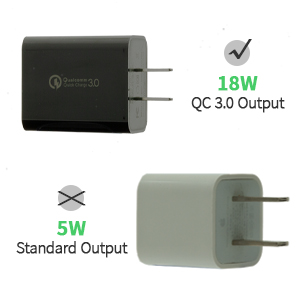Use the right adapter