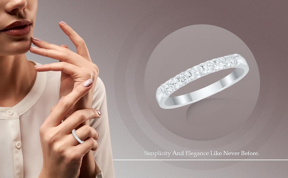 lab grown diamond ring band ring