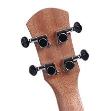 tuning pegs of ukulele
