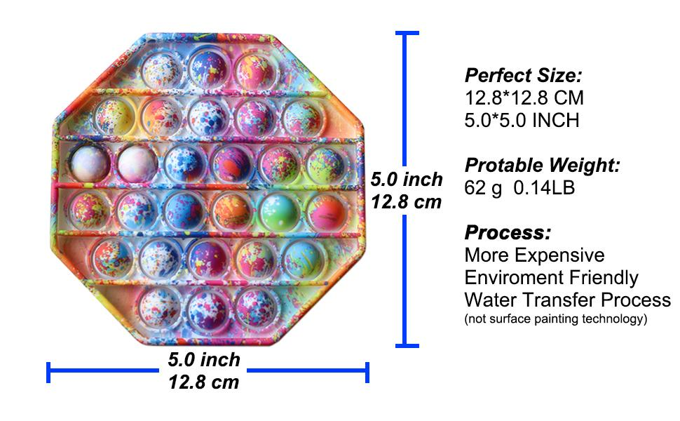 Fidget sensory toys POP it - Beautiful Painting Series