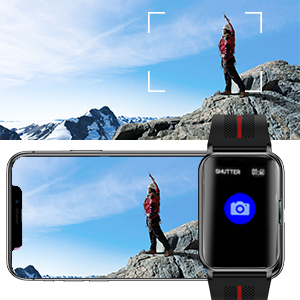 smart watch camera remote
