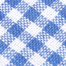 Pure cotton blue and white plaid cotton cloth