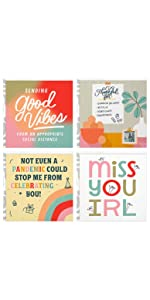 Cute Good Mail greeting cards that read Miss You IRL
