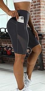 Pantaloncini Tasche Laterali in Rete