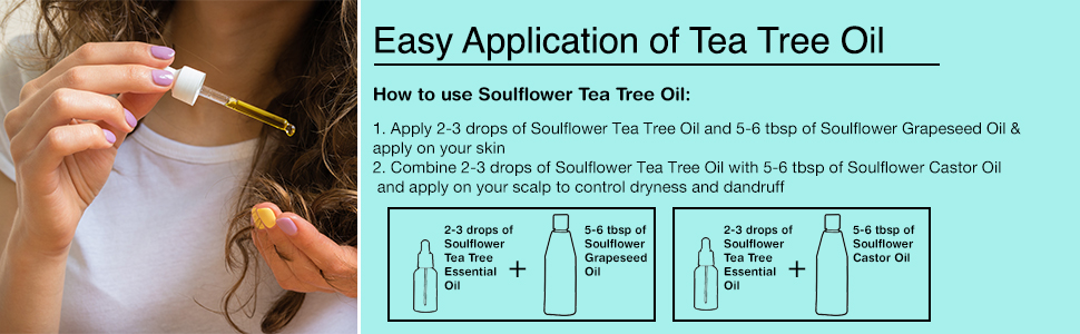 tea tree oil for oily skin