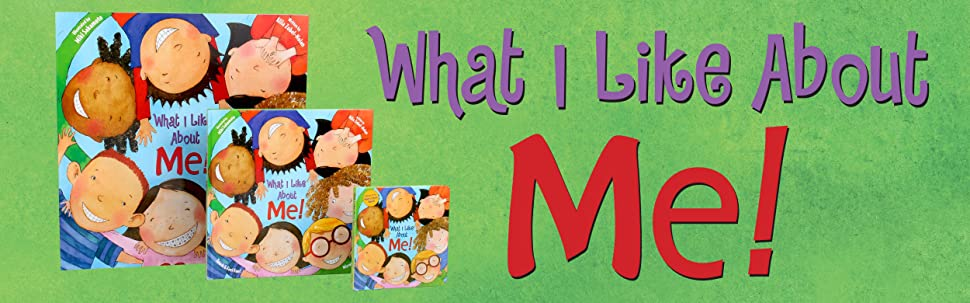 Three editions of What I Like About Me