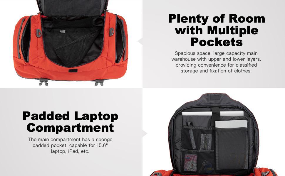 Ubon Multi-functional Travel Duffel Bag