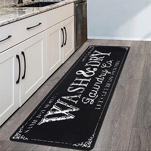 Long Laundry Room Rug Kitchen Floor Mat Farmhouse Runner Rug for Laundry Room