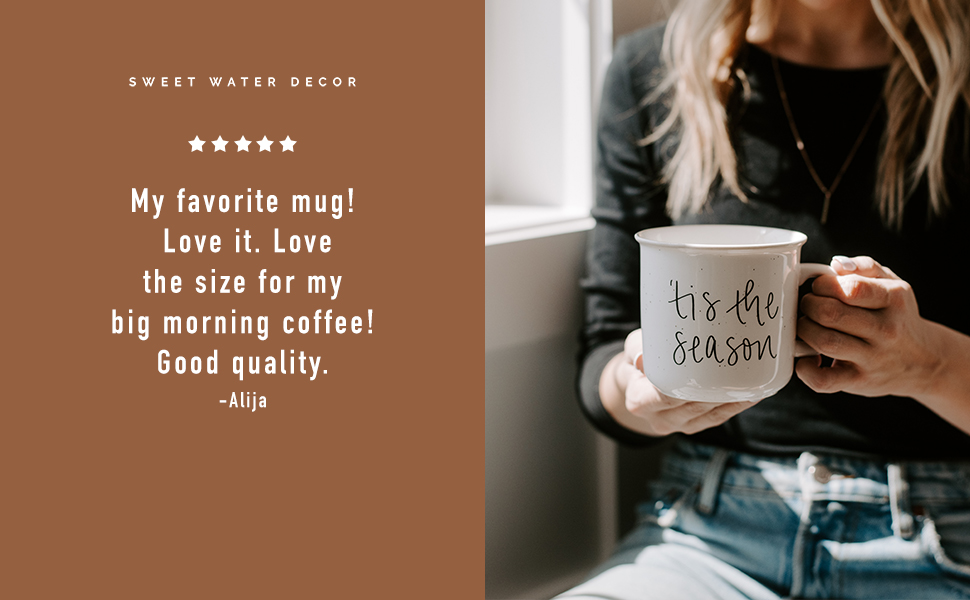 sweet water decor home gifts coffee mugs soy candles matches turkish blankets motivational quotes