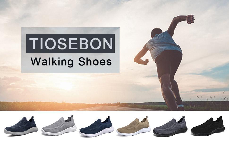 tiosebon walking shoes for men