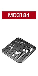 SMALLRIG Screw and Hex Key Plate - MD3184