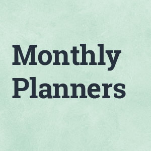 month planners