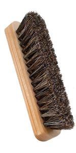 Shoe Brush,Horsehair Shoe Shine Brushes ,Suede Shoe Brush Cleaning
