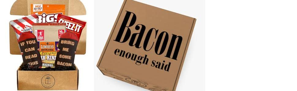 Snack Bacon Box with Box