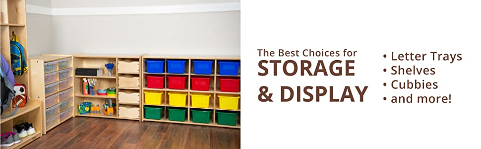 The Best Choices for Storage and Display