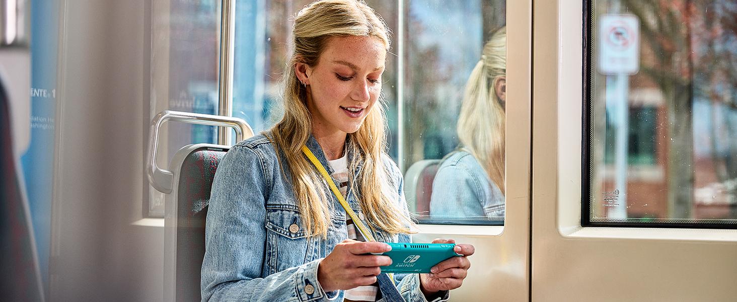 Women Nintendo Switch Lite