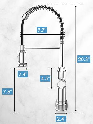 Spring Kitchen FaucetFaucet