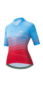 Uriah Womenamp;#39;s Cycling Jersey Short Sleeve Reflective