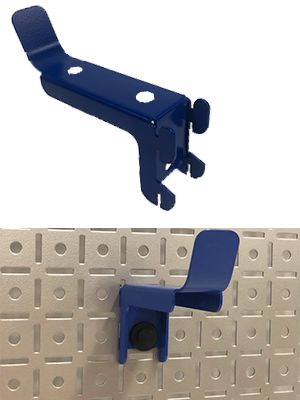 OmniWall Accessories Lock in Tab Design To Secure To Metal Pegboard OmniPanel