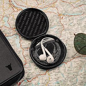 TORRO Genuine Leather Travel Wallet (Black)