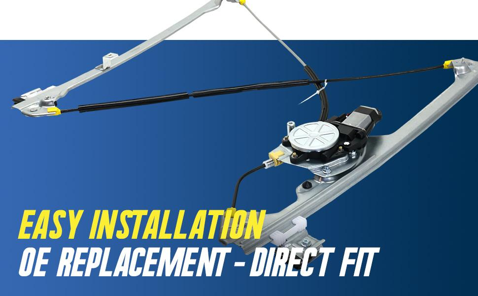 easy installation direct fit replacement