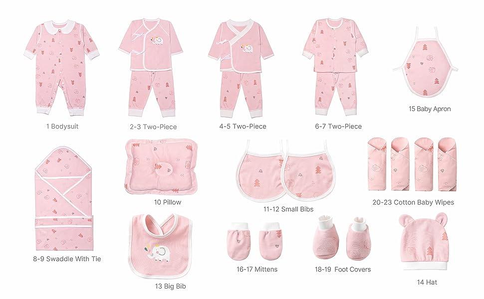 Pink 23 piece