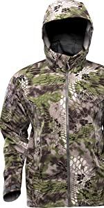 waterproof hunting jacket, camo jacket, insulated camo jacket