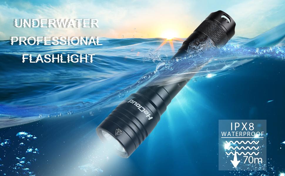 dive flashlight