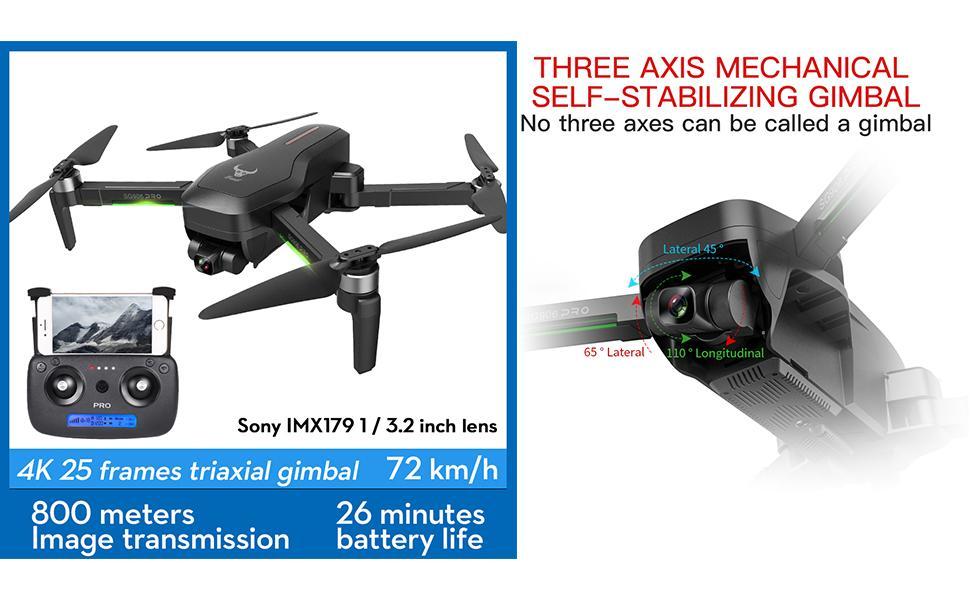 Flashandfocus.com 0632108b-a264-44f8-b4d9-9a2409229a2a.__CR0,0,970,600_PT0_SX970_V1___ AIROKA Beast SG906 Pro 2 4K Camera RC Drone with GPS Three-Axis Self-Stabilizing Gimbal 5G WiFi Anti-Shake Gimbal…