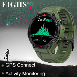 smart watch for men military tactical sports watches fitness watch android smart watch army watch