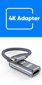 4k micro hdmi to hdmi adapter
