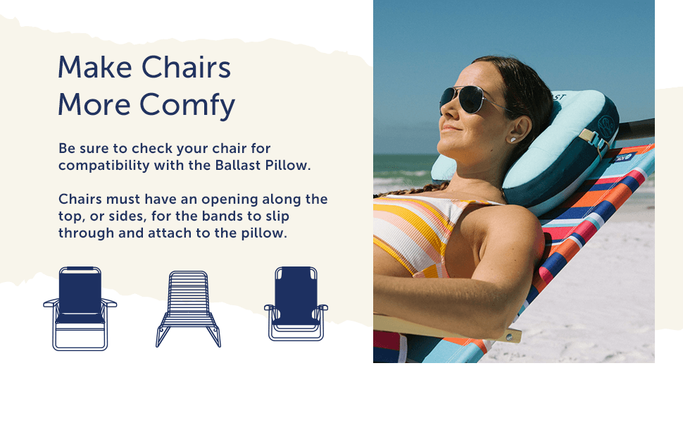 Make Chairs More Comfy
