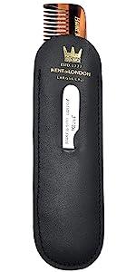 KENT NU19 Comb, Metal File and Pocket Set